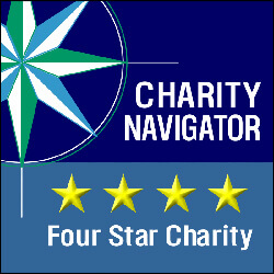 Award Charity Navigator Four Star Charity